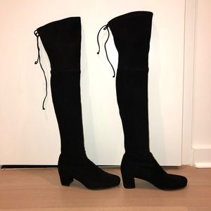 d009ee87eb7 Stuart Weitzman Shoes - Stuart Weitzman Hinterland black suede boots